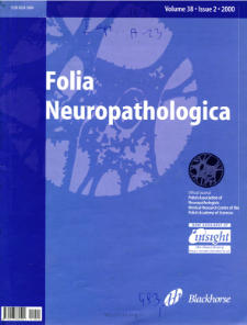 Folia Neuropathologica : former Neuropatologia Polska Vol.38 (2000) nr 2