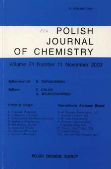 Vol. 74 no. 11 (2000) -SpisTreści-Okładki