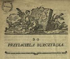 Do Przyiaciela Burczybąka