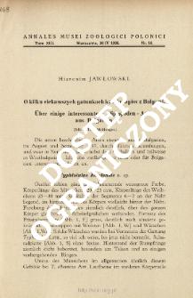 Über einige interessantere Diplopoden - Arten aus Bulgarien