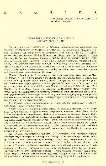 Archeologia Polski T. 29 (1984) Z. 2, Kronika