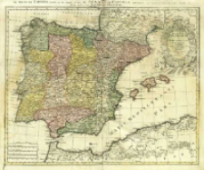 Regnorvm Hispaniæ et Portvgalliae Tabula generalis de l'Isliana aucta et ad Usum Scholarum novissime = El Reyno de Espanna [...]