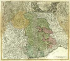 Regiæ Celsitudinis Sabaudicæ Status in quo Ducatus Sabaudiæ, Principatus Pedemontium et Ducatus Montsferrati in suas quasq[um] Ditiones & Territoria divisi cum finitimis Regionibus exhibentur.