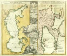 Geographica Nova ex Oriente gratiosissima, duabus tabulis specialissimis contenta, quarum una Mare Caspium, altera Kamtzadaliam seu Terram Jedso curiosè exhibet.