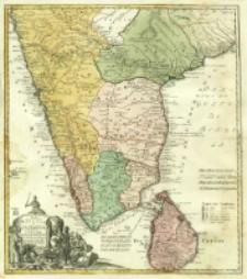 Peninsula Indiæ eitra Gangem, hoc est Orae celeberrimae Malabar & Coromandel Cum adiacente Insula non minus celebratissima Ceylon