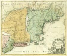 Nova Anglia Septentrionali Americæ implantata Anglorumque coloniis florentissima Geographice
