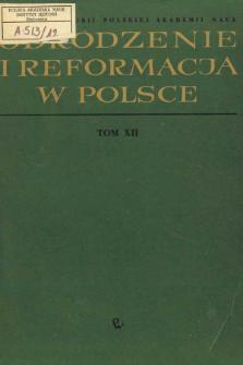 Stosunki słowacko-polskie w epoce Odrodzenia i reformacji (połowa XV - początek XVII w.)