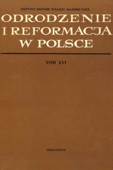 Badania nad reformacją w Wielkim Księstwie Litewskim (1919-1969)