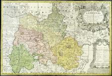 Principatus Silesiae Lignicensis in suos circulos, tres nempe Lignicenses, Goldbergensem, Haynavviensem et Lubenensem divisi