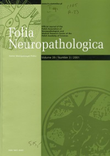 Folia Neuropathologica : former Neuropatologia Polska Vol.39 (2001) nr 3