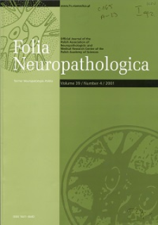 Folia Neuropathologica : former Neuropatologia Polska Vol.39 (2001) nr 4