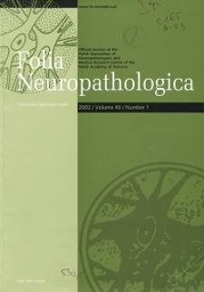 Folia Neuropathologica : former Neuropatologia Polska Vol.40 (2002) nr 1