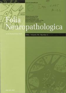 Folia Neuropathologica : former Neuropatologia Polska Vol.40 (2002) nr 3