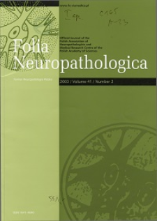 Folia Neuropathologica : former Neuropatologia Polska Vol.41 (2003) nr 2
