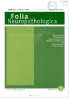 Folia Neuropathologica : former Neuropatologia Polska Vol.48 (2010) nr 1
