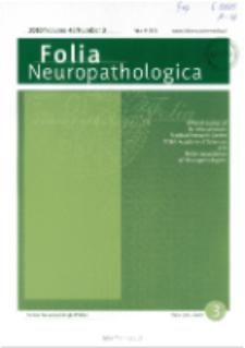 Folia Neuropathologica : former Neuropatologia Polska Vol.48 (2010) nr 3