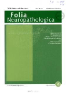 Folia Neuropathologica : former Neuropatologia Polska Vol.48 (2010) nr 4