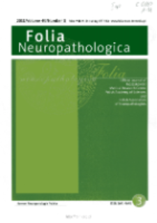 Folia Neuropathologica : former Neuropatologia Polska Vol.49 (2011) nr 3
