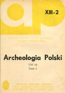 Z badań nad ceramiką kultur białoruskiego Naddnieprza w okresie od VII w. p.n.e. do V w. n.e.