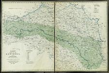 Karte des Königreiches Galizien
