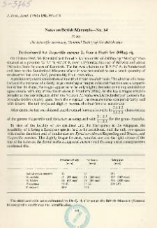 Notes on british mammals - No. 14