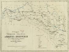 Mappa zdrojowisk lekarskich w Galicyi i Bukowinie