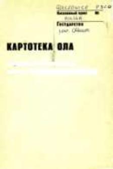 Kartoteka Ogólnosłowiańskiego atlasu językowego (OLA); Golczowice (300)