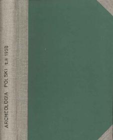 Archeologia Polski. Vol. 2 (1958) No 2