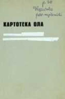 Kartoteka Ogólnosłowiańskiego atlasu językowego (OLA); Więciórka (311)