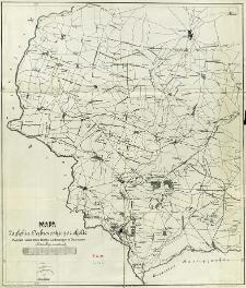 Mapa Zagłębia Dąbrowskiego i okolic