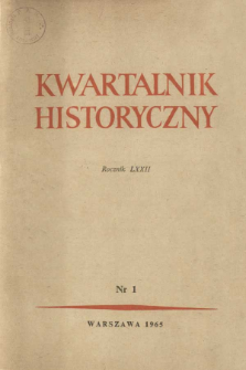 O rzetelną ocenę stanu nauk historycznych