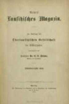 Neues Lausitzisches Magazin Bd. 48 (1871)