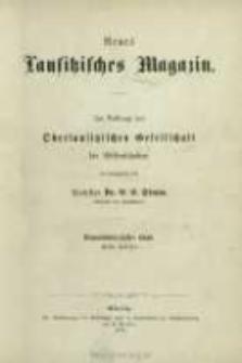 Neues Lausitzisches Magazin. (1872) Bd. 49