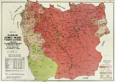 Rozsiedlenie ludności Polskiej w Księstwie Cieszyńskim = La reportition de la population Polonaise dans la principauté de Cieszyn = The Polish population in the province of Teschen