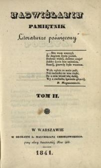 Nadwiślanin : pamiętnik literaturze poświęcony 1841 T.2