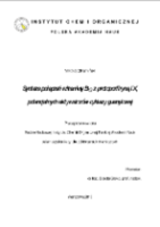 Synteza połączeń witaminy B12 z protoporfiryną IX, potencjalnych aktywatorów cyklazy guanylowej
