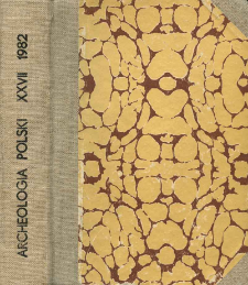 Archeologia Polski T. 27 (1982. - 1983) Z. 2, Recenzje