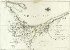 Plan des Territorii der freien Stadt Danzig