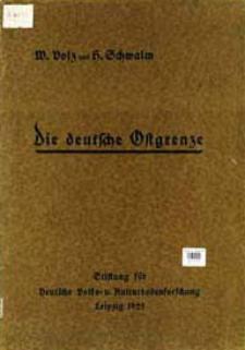 Die deutsche Ostgrenze