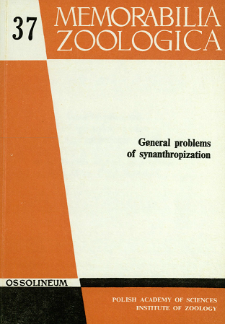 General problems of synanthropization : proceedings of the international symposium held on 26-31, May, 1980 at Białowieża