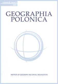 Geographia Polonica Vol. 86 No. 3 (2013) Contents