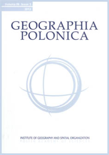 Geographia Polonica Vol. 86 No. 3 (2013), Review