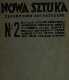 Nowa Sztuka : miesięcznik artystyczny