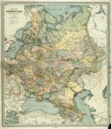 Karta Evropejskoj Rossìi