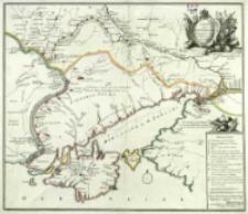Carte de la Petite Tartarie : Dressée par ordre de l'Imperatrice de toutes les Russies