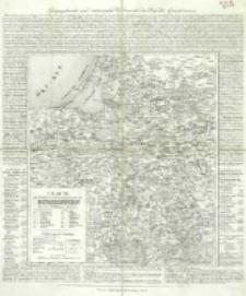 Charte vom Königlich Preussischen Regierungsbezirk Gumbinnen : nach seiner Eintheilung in 16 Kreise