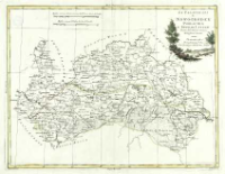 Li Palatinati di Nowogrodek Podlachia e Brzesk Littew : Tratta dall' Atlante Polacco