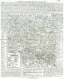 Charte vom Königlich Preussischen Regierungsbezirk Liegnitz : nach seiner Eintheilung in 19 Kreise
