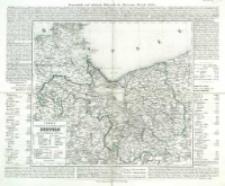 Charte vom Königlich Preussischen Regierungsbezirk Stettin : nach seiner Eintheilung in 12 Kreise