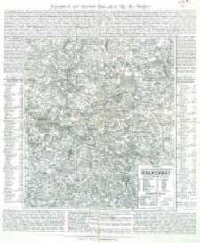 Charte vom Königlich Preussischen Regierungsbezirk Frankfurt : nach seiner Eintheilung in 18 Kreise